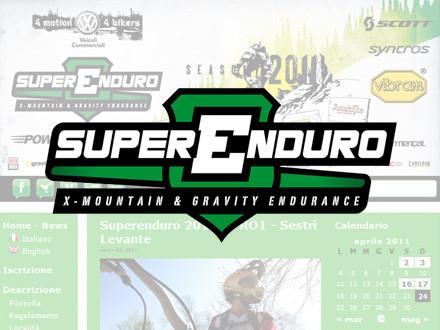 Superenduro 2011: web e social