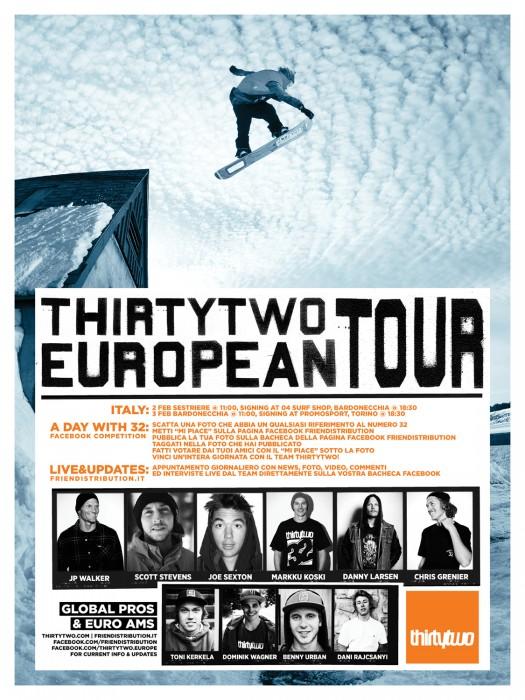 32 Euro Tour poster