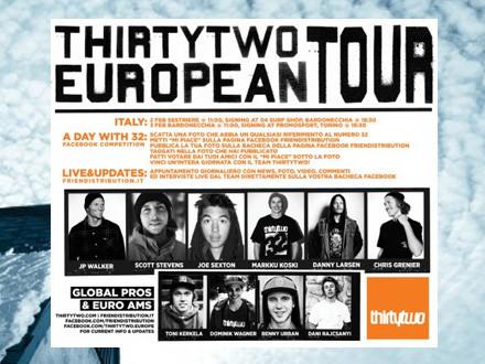 32 Euro Tour